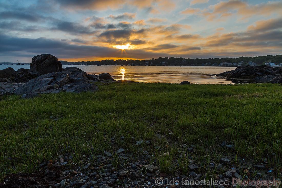 Sunrise at Forest River Park