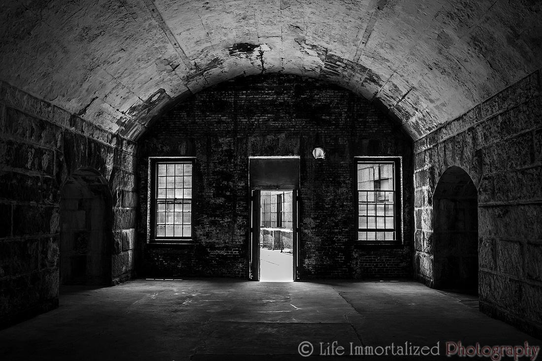 Fort Warren B&W