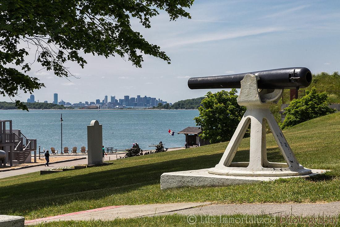 Fort Warren Cannon
