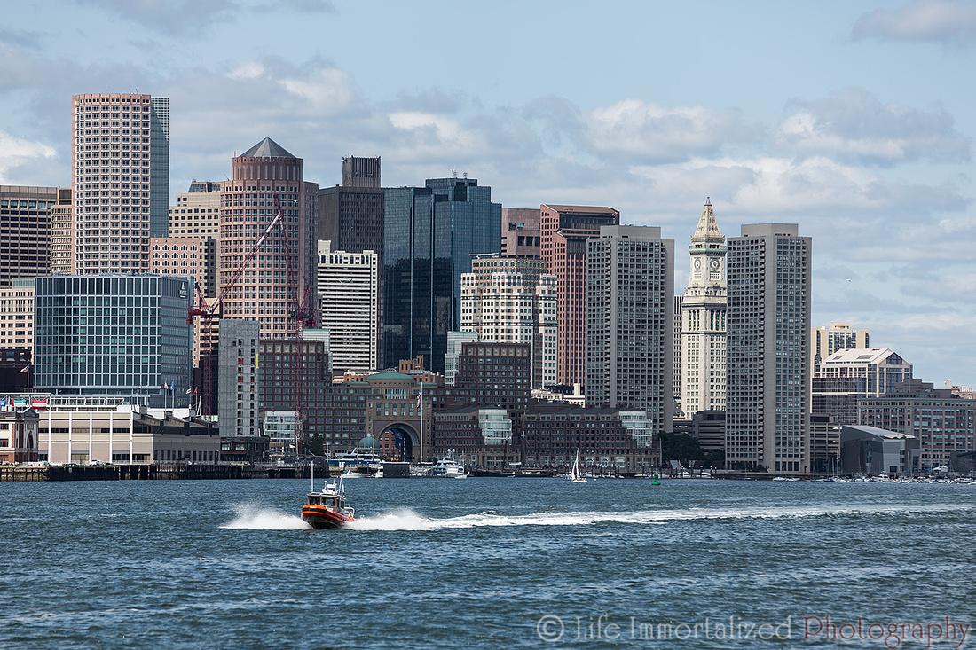 View of Boston Skyline