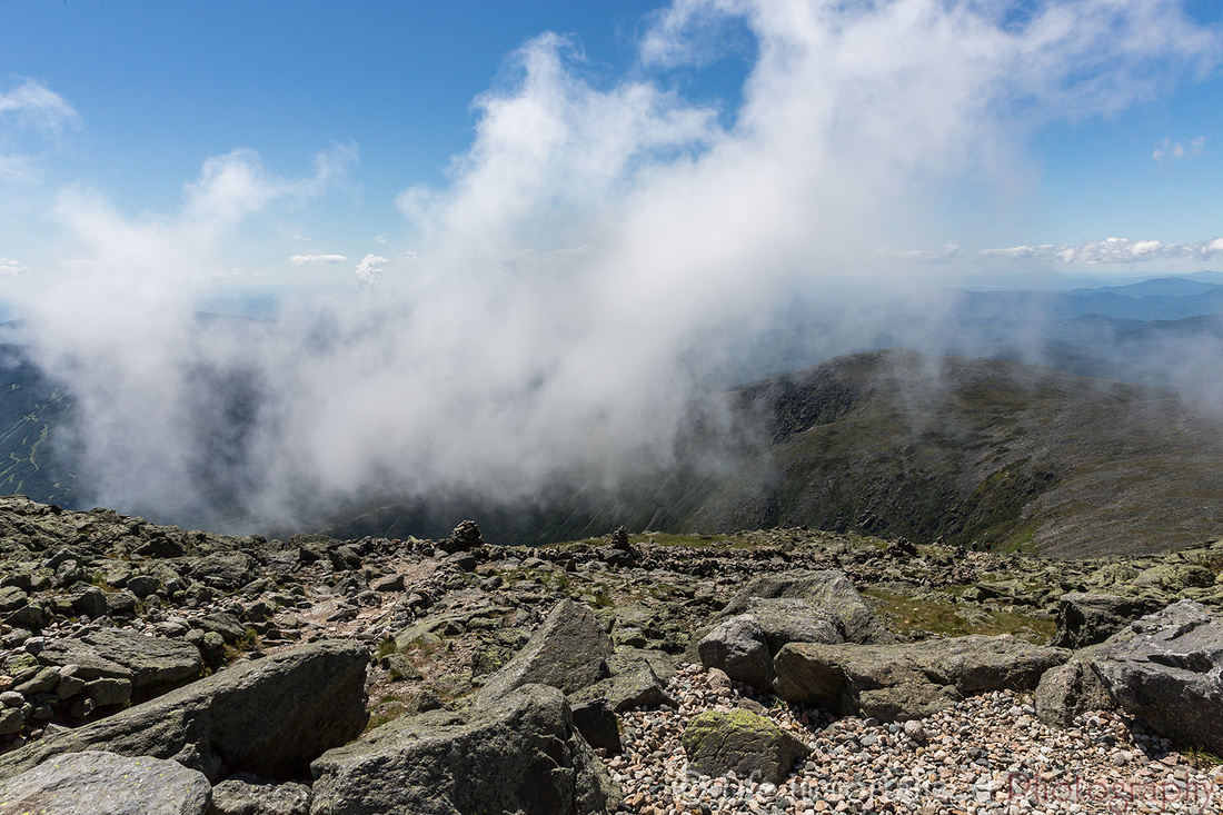 Clouds Atop Mt. Washington
