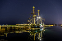 Derby's Wharf at Night