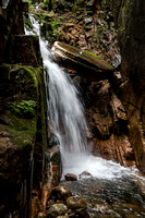 Flume Gorge Waterfall