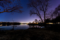 Forest River Park at Night