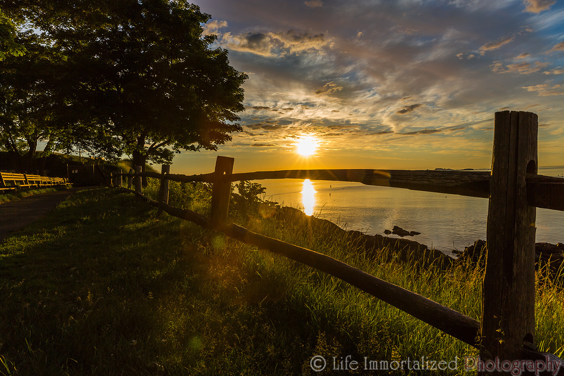 Fort Sewall Sunrise