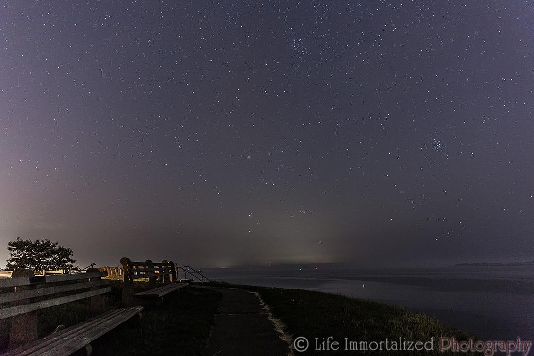 Fort Sewall at Night